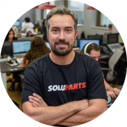 Saulo Rodrigues - Soluparts founder and CFO