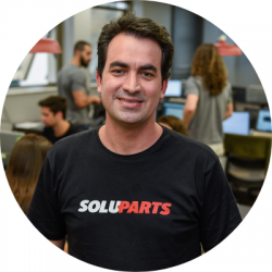 Alex Rodrigues - Soluparts founder and CEO